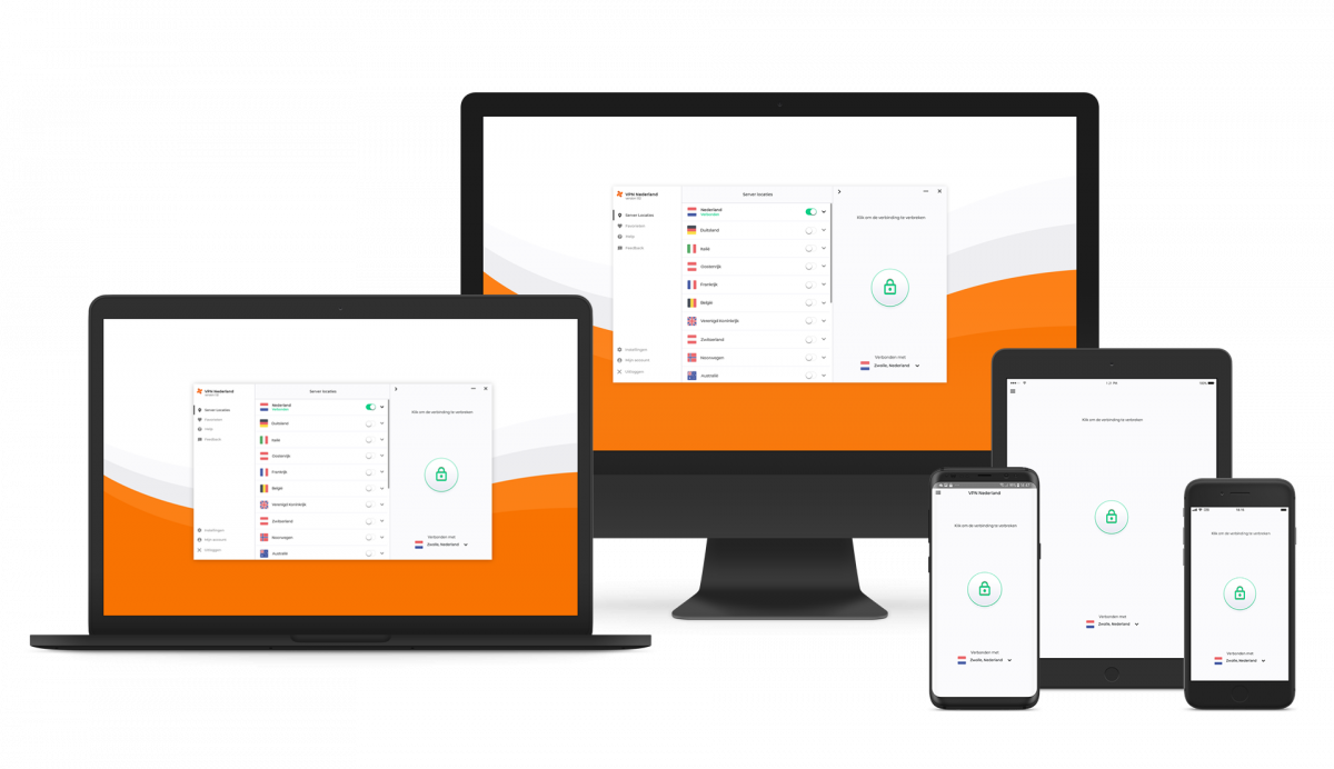 VPN Nederland op al je apparaten