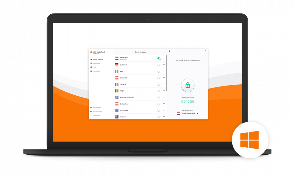Windows VPN VPN Nederland